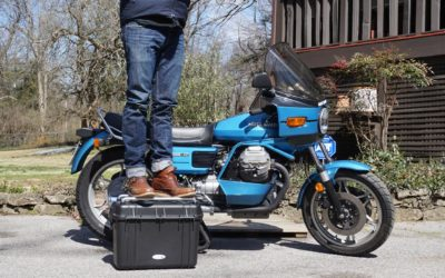 Acmemoto2 launches 'adventure-worthy' tough case motorcycle luggage with a warranty to back it up